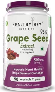 HealthyHey Nutrition Grape Seed Extract