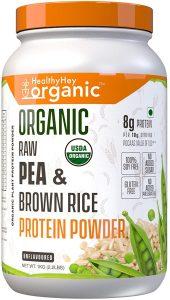 HealthyHey Organic Raw Pea Protein