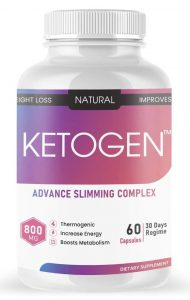 Ketogen Keto Advance Weight Loss Supplement Natural Fat Burner with Green Tea and Green Coffee