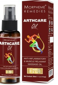 Morpheme Remedies Arthcare Oil with Spray (For Pain in Leg, Arm, Body, Knee) - 50 ml_ Amazon.in_ Health & Personal Care