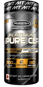 MuscleTech Platinum Pure CLA Supplement