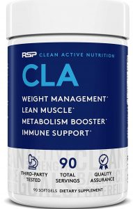 RSP Nutrition CLA Stimulant Free Weight Loss Supplement