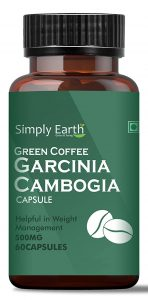 Simply Earth Natural Weight loss support with Garcinia Cambogia & Green Coffee Bean Extracts