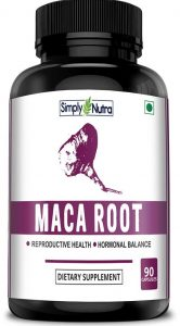 Simply Nutra Maca Root Extract Capsules