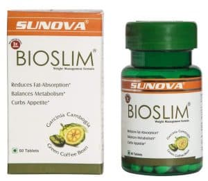 Sunova Bioslim (Garcinia Cambogia Extract and Green Coffee Bean Extract)