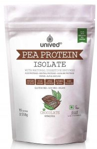 Unived Organic Pea Protein Isolate