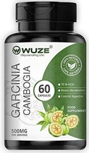 Wuze Pure Garcinia Cambogia (60% HCA)(Suppresses appetite Helps in Health Management)