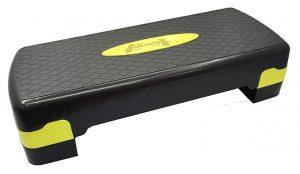 ABB INITIO GYM Polypropylene Adjustable Home Gym Exercise Fitness Stepper for Exercise Aerobics Stepper