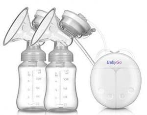 BabyGo Automatic Electric BPA-Free Double Breast Pump with Dual Mode
