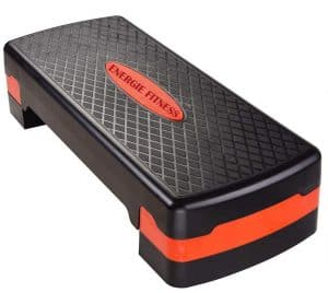 Energie Fitness Adjustable Aerobic Stepper