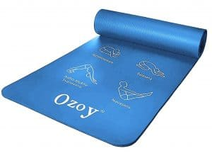 Zofey 13mm Extra Thick Yoga and Exercise Mat