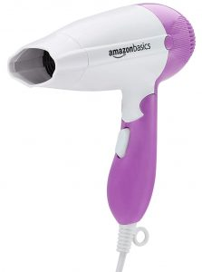 AmazonBasics 1200W Compact Hair Dryer