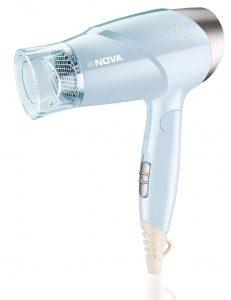 Nova NHP 8203 Premium 1400 Watts Hot & Cold Foldable Hair Dryer
